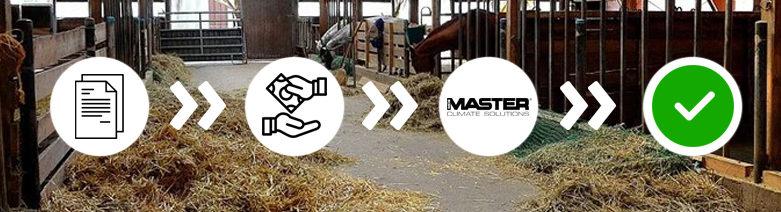 MASTER gépeink állami támogatással is korszerűsíthetik az állattartó telepeket!